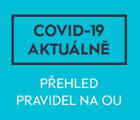 COVID-19 aktuálně - modrá