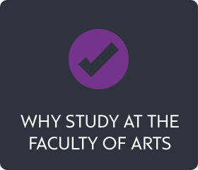 Why study at the Faculty of Arts