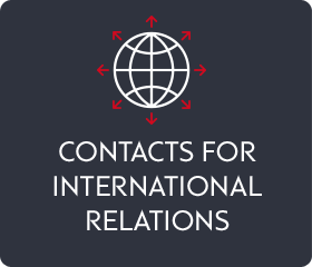 Contacts for international relations