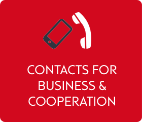 Contacts for business and cooperation