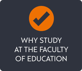 Why study at faculty of education