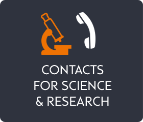 Contacts for science and research