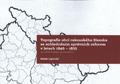 Topografie obcí rakouského Slezska sezohledněním správních reforem vletech 1846 - 1855