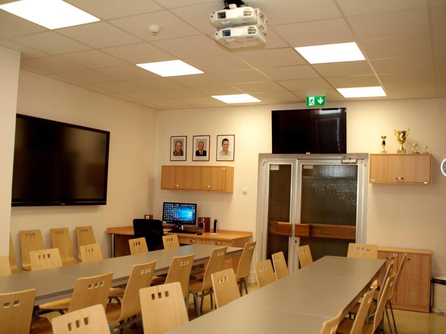 Výuková místnost slouží studentům izaměstnancům kliniky