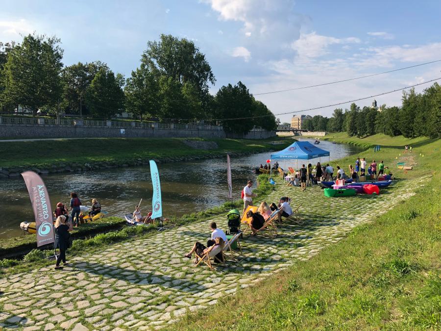 Ostravice river