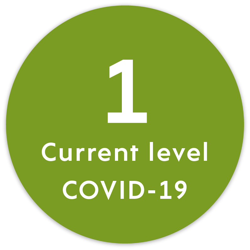 Current level - 1