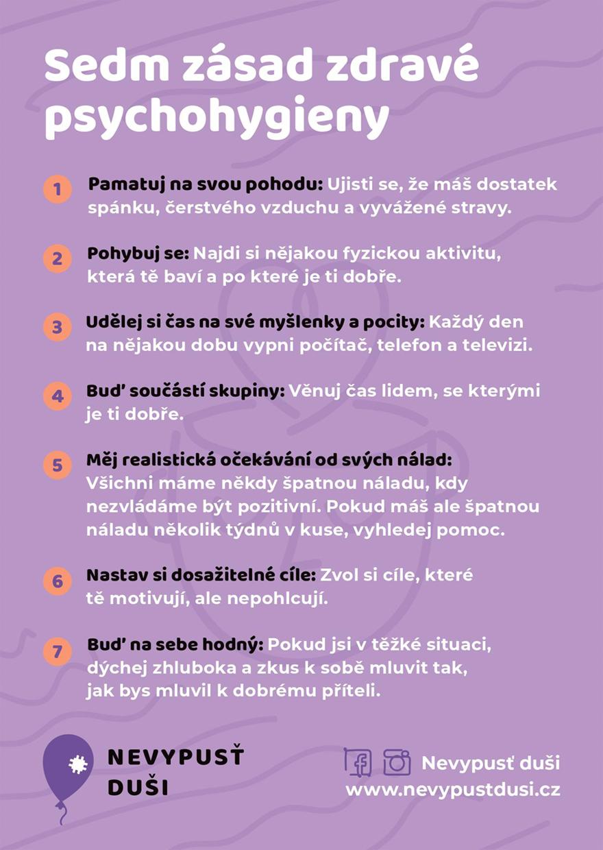Sedm zásad zdravé psychohygieny