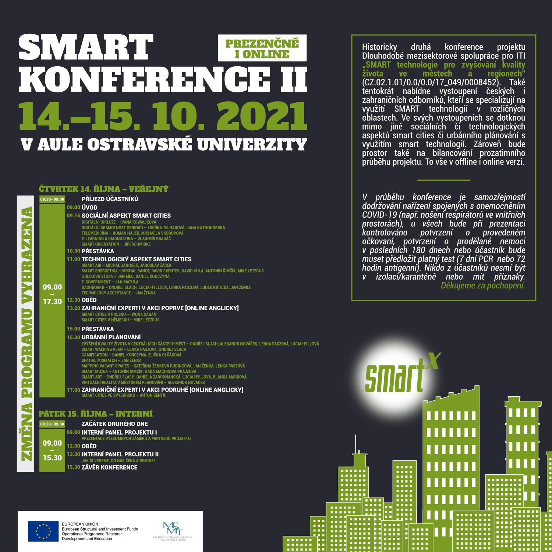 Už večtvrtek bude Ostravská univerzita patřit SMART řešením