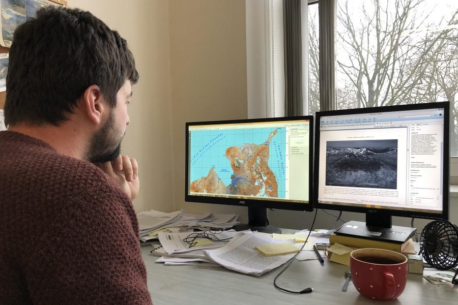 Michal Břežný bude naAntarktidě zkoumat sesuvy aodtávání ledovců