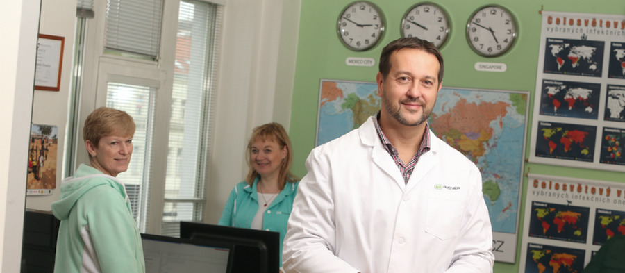Dean of the Faculty of Medicine is Rastislav Maďar
