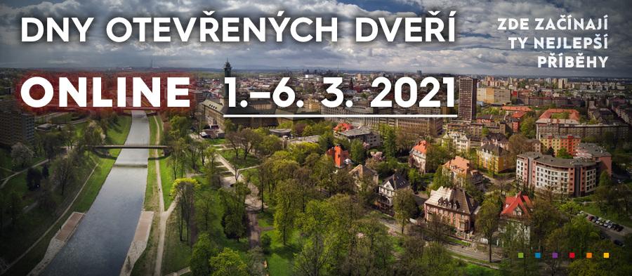 Dny otevřených dveří ONLINE pokračují 1.–6.března 2021