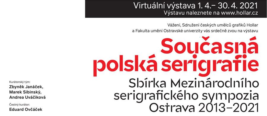 Virtuální výstava současné polské serigrafie