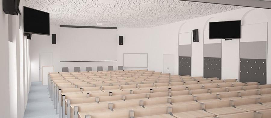 Prostory Filozofické fakulty sepomalu, ale jistě modernizují